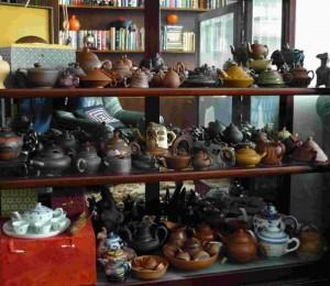 Kollektion von chinesischen Teekännchen
