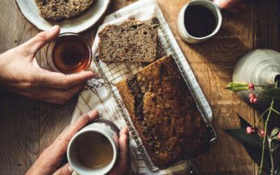 Winter – Rührkuchen mit Mohn zu Masala Chai